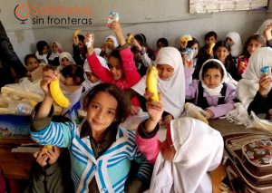 Desayunos para educar en Yemen, Solidarios Sin Fronteras