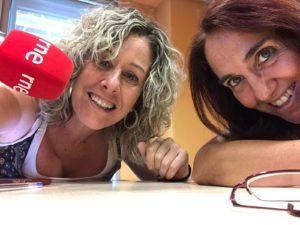 Pilar Sampietro Radio 3 y Eva Erill de Solidarios Sin Fronteras