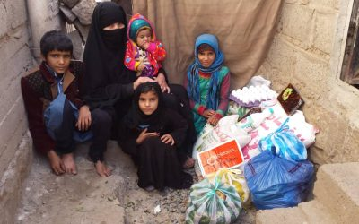 Nuevo reparto de Alimentación y productos de Higiene a familias Desplazadas