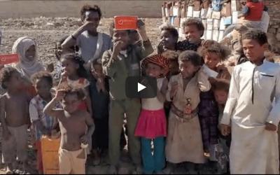 «Tenemos hambre», Campo de Desplazados de Arhab, Yemen.