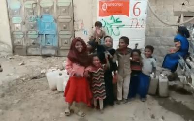 ¡Tenemos hambre, tenemos hambre! Campo de Desplazados de Raydah, Yemen