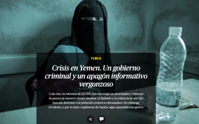 La implicación criminal del gobierno en Yemen