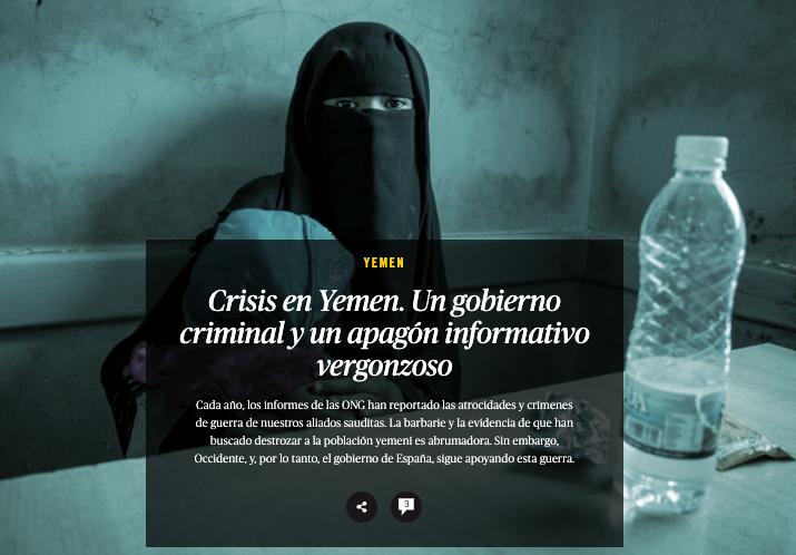 Crisis en Yemen. elsaltodiario