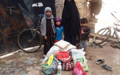 Continuamos repartiendo alimentos en Yemen