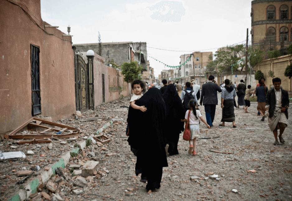 calles en Yemen