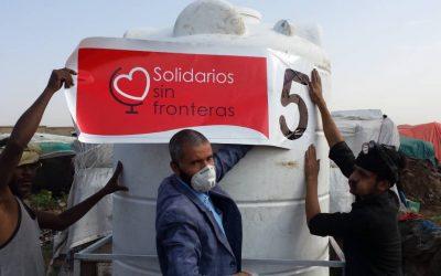 Reemplazamos el depósito 5 en Arhab, Yemen