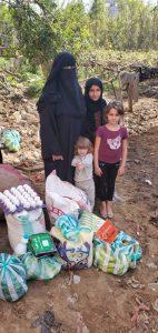 reparto alimentación Yemen, agosto 2020
