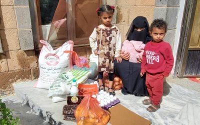 Nuevo Reparto de Alimentación y Productos de Higiene en Sana'a, Yemen