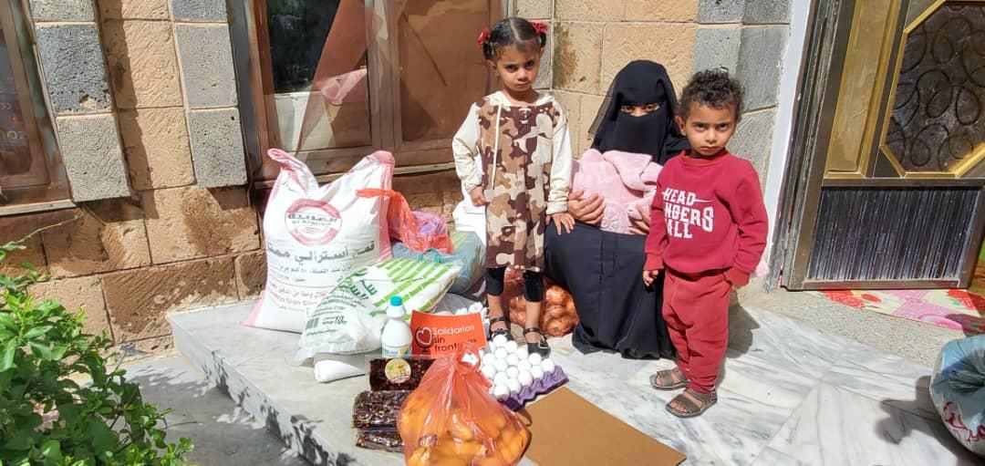 Reparto alimentos Yemen
