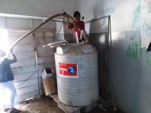 depósitos de la escuela 1 en Yemen