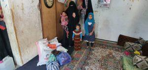 reparto de alimentación en Yemen