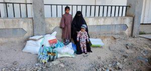 familias y alimentación en Yemen
