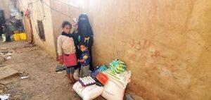 ayudamos a familias en Yemen