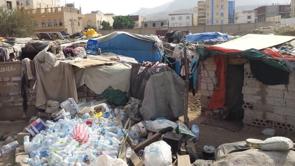Bayt Baws, nuevo campo de desplazados donde vamos a dar agua potable