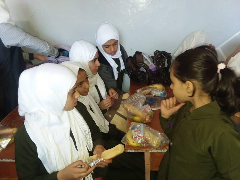 escuela en Yemen