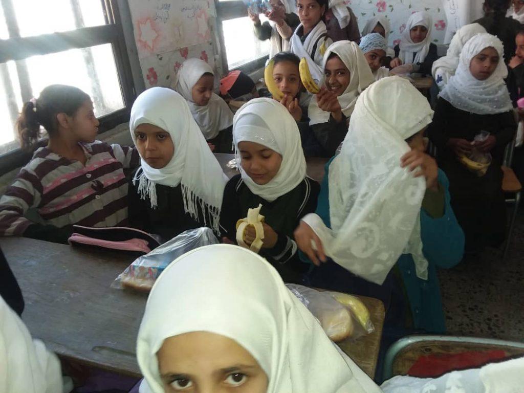 la hora del desayuno en Yemen