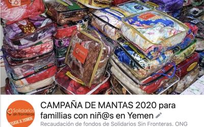 MANTAS PARA YEMEN: Nueva campaña