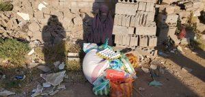 reparto alimentos en yemen, noviembre 2020