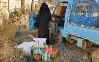 Nuevo reparto de alimentación en Yemen