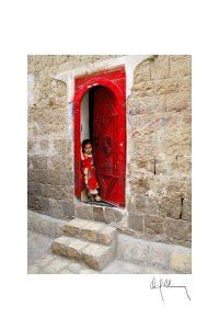 La niña roja, fotografía Oriol Alamany