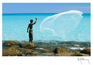 Pescador, fotografía Oriol Alamany