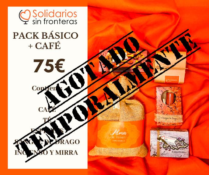 pack solidario básico con café