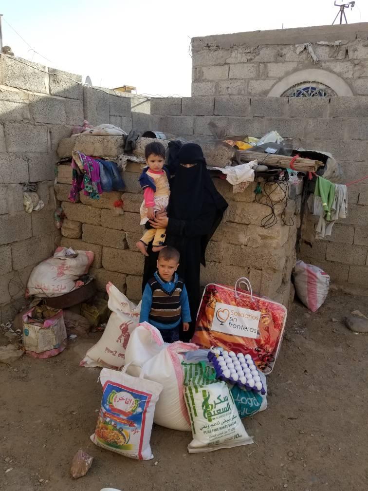 Mantas para Yemen, Solidarios sin fronteras