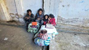 packs de alimentos y productos de higiene para Yemen