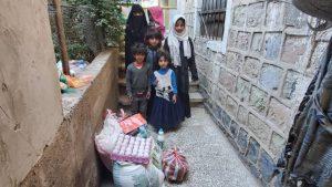 alimentación y productos de higiene para Yemen