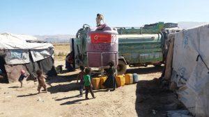 rellenos semanales agua para Yemen
