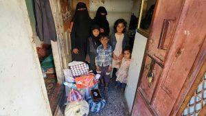 seguimos alimentando a familias en Yemen