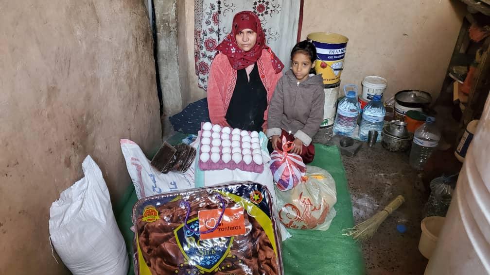 nuevo reparto de alimentos en Yemen