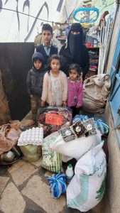 proyecto alimentación familias en Yemen