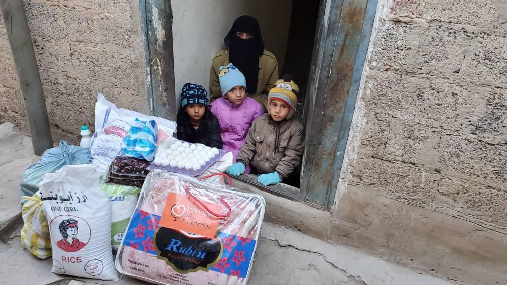 desde que empezamos hace 6 años, y miles de familias han recibido mantas para lograr mantener algo de calor y arropar a los más pequeños.