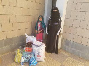 alimentos para familias desplazadas, Yemen