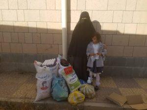alimentos para familias, Yemen