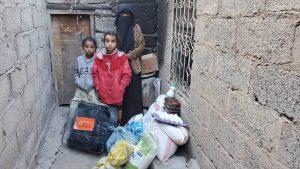 alimentamos a personas en Yemen