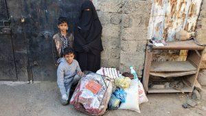 familias alimentadas en Yemen
