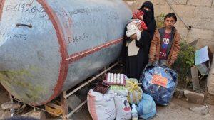 familias alimentadas, Yemen