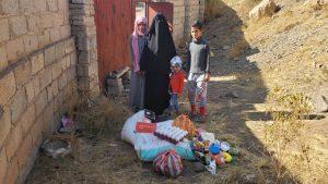 alimentos para familias en Yemen