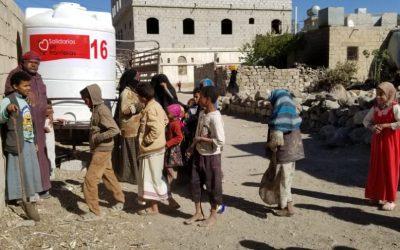 Nuevo depósito en Raydah, Yemen