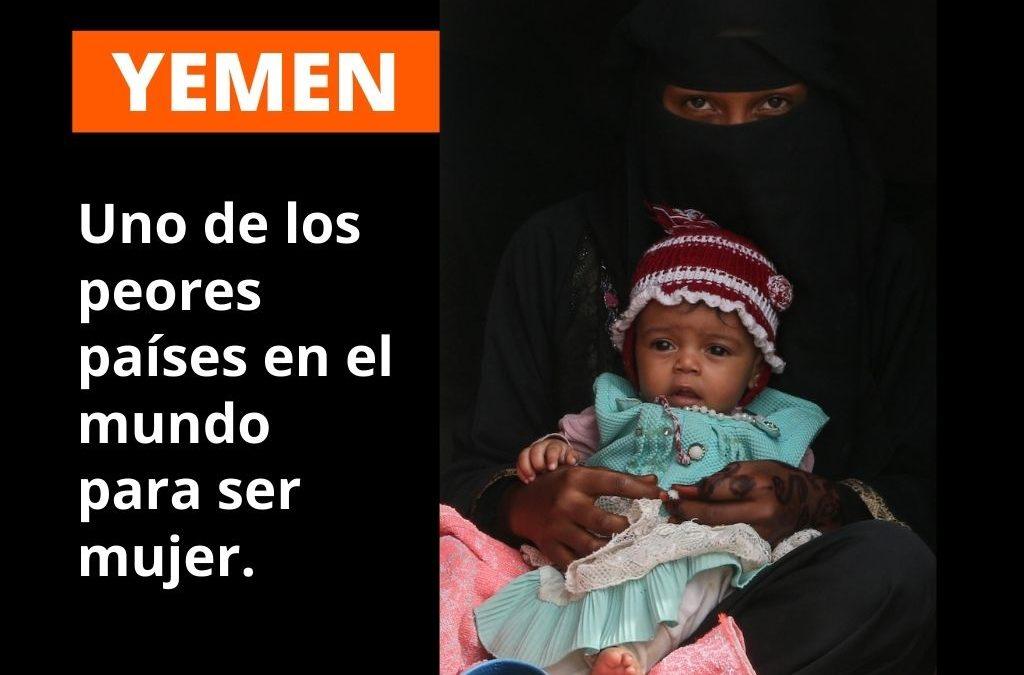 Yemen, el peor país del mundo para ser mujer