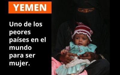 Yemen es el peor país del mundo para ser mujer
