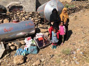 reforzamos ayuda a las familias en Yemen