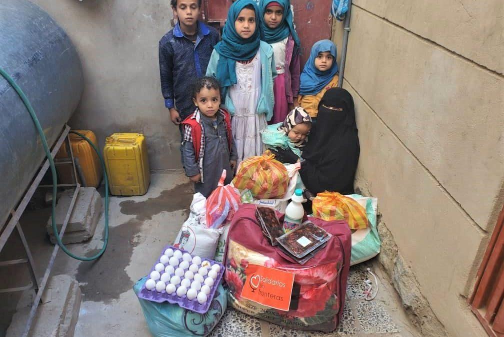 Proyecto alimentación familias, Yemen