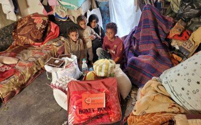 Seguimos distribuyendo alimentos a las familias