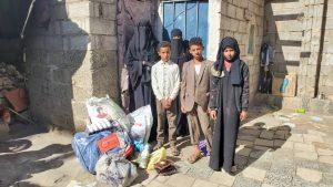 Alimento para las familias en Yemen