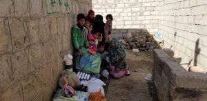 alimentos para las familias en Yemen