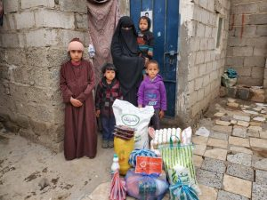 Alimentos para las familias, Yemen