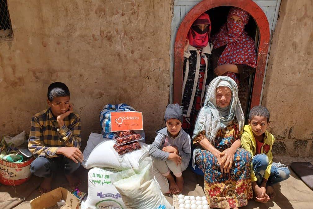 Seguimos distribuyendo alimentos a las familias en Yemen